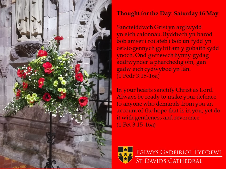 Holy Week And Eastertide St Davids Cathedral
