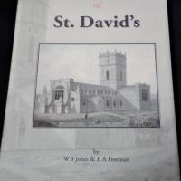 The cover of 'The History and Antiquities of St David's' by W B Jones & E A Freeman, 1856