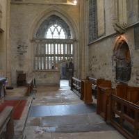 The interior of the Holy Trinity Chapel